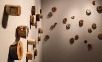 "Installation by Stephanie Garmey ""Woodland Collection"""