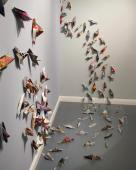 Opening Reception: July 6, 2012. Work by Diana Marta.