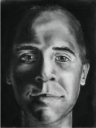 Drawing I: Self Portrait (charcoal)