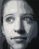 Two Dimensional Design: Face Value Project (Acrylic)