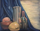 Painting I: Blue/Orange Still Life