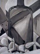 Painting I: Monochromatic Oil Study